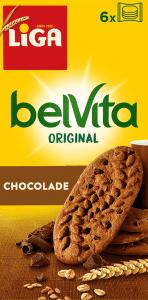 LiGA belVita Plain Chocolade