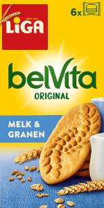 LiGA belVita Plain Melk & Granen