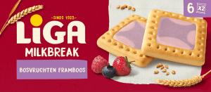 LiGA MilkBreak Bosvruchten Framboos
