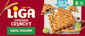 LiGA Evergreen Crunchy Muesli Rozijnen